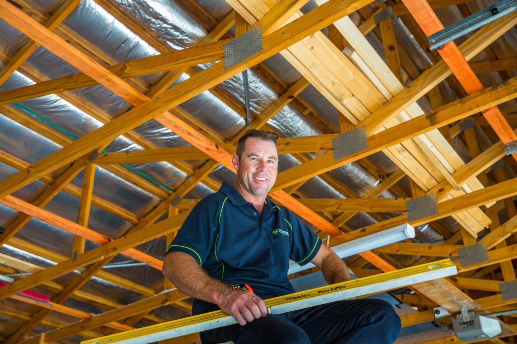 Luke Tomkins of Tomkins Construction