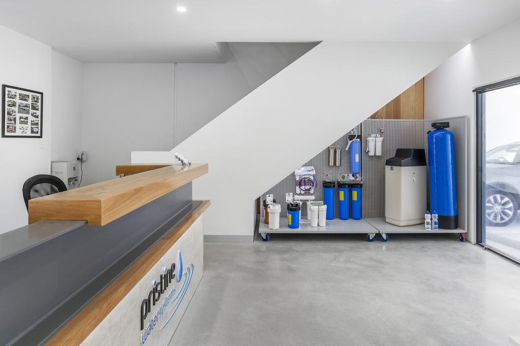 Arundal commercial fitout for pristine water systems
